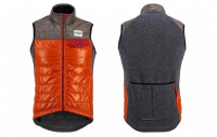 cafe-du-cycliste-vesta-albertine-gilet-orange-camel--cafe-du-cycliste-albertine-gilet-orange-camel