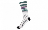 cafe-du-cycliste-ponozky-merino-socks-patterned-nordic-green--cafe-du-cycliste-merino-socks-patterned-nordic-green