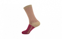 cafe-du-cycliste-ponozky-hc-vertical-stripes-khaki-framboise--cafe-du-cycliste-ponozky-hc-vertical-stripes-khaki-framboise